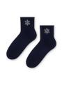 Dámske ponožky Steven art.066 Comet Netlačící